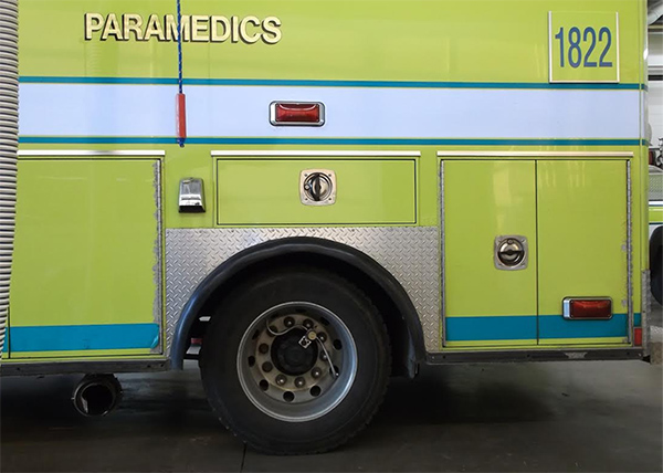 EMS / Fire Emergency Vehicle Tire Pressure Monitoring
